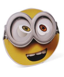 Minions Face Mask Pack Of 10 - Yellow