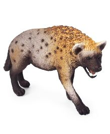 Schleich Hyena Toy Figure Yellow & Brown - Length 7.5 cm