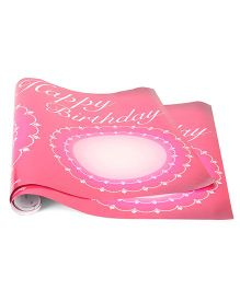 Disney Princess Birthday Poster Pack Of 2 - Pink