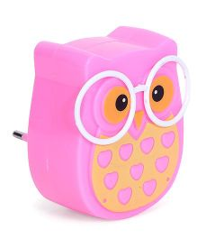 Owl Shape Night Lamp - Pink