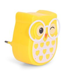 Owl Shape Night Lamp - Yellow