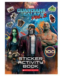 Guardians Of The Galaxy 02 Movie Sticker Activity Book - English