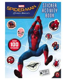 Spider-Man Homecoming Sticker Activity Book - English