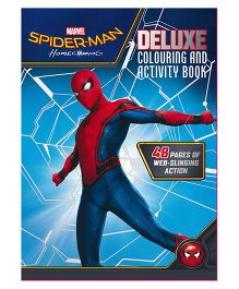 Spider-Man Homecoming Deluxe Colouring & Activity Book - English
