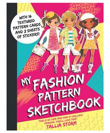 My Fashion Pattern Sketchbook - English
