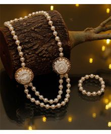 D'Chica Chic Ethnic Wear Jewelry - White