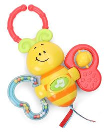 Winfun Light-Up Twisty Rattle - Yellow