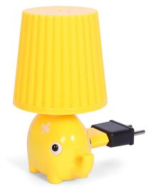 Elephant Shape Night Lamp - Yellow