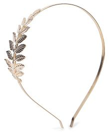 Stol'n Hairband Leaf Design - Golden