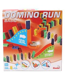 Simba Basic Domino Run Game - 200 Pieces