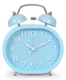 Twin Bell Analog Alarm Clock - Sky Blue