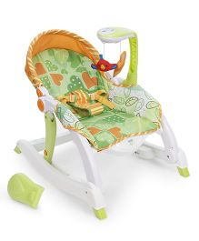 Winfun Grow With Me Rocking Chair - White & Green