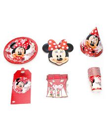 Disney Minnie Mouse Party Box - Pack Of 51