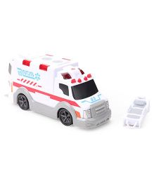 Dickie Freewheel Ambulance Toy - White