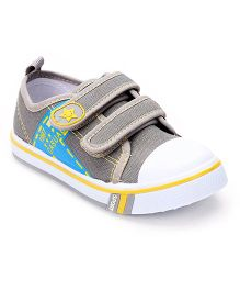 Cute Walk by Babyhug Canvas Casual Shoes - Grey