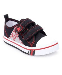 Cute Walk by Babyhug Velcro Casual Shoes - Black