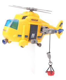 Dickie Freewheel Rescue Copter - Yellow