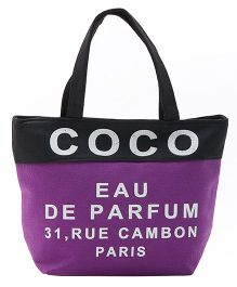 EZ Life Coco Print Carry Bag - Purple