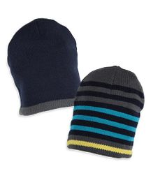 Mothercare Magic Beanie Hats Pack of 2 - Multi Colour