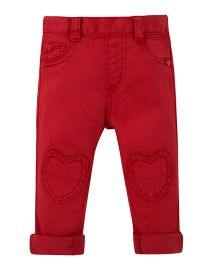 Mothercare Full Length Pull On Pants - Red