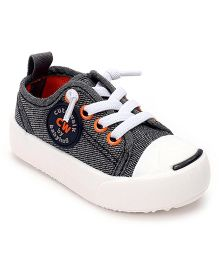 Cute Walk by Babyhug Canvas Casual Shoes - Black