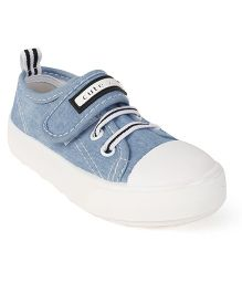 Cute Walk by Babyhug Canvas Casual Shoes - Light Blue