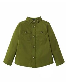 Mothercare Full Sleeves Shirt - Green