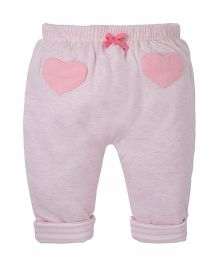 Mothercare Full Length Reversible Lounge Pant With Drawstring - Pink