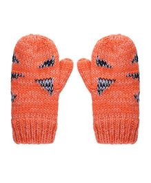 Mothercare Knitted Gloves - Orange