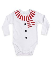Mothercare Snowman Hanging Bodysuit - White