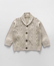 Mothercare Cardigan Cable Knit Design - Beige