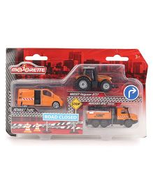 Majorette City Play Set Medium - Orange
