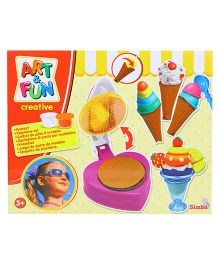 Simba Art & Fun Dough Ice Cream Set - Multi Color