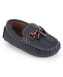 Cute Walk by Babyhug Loafer Shoes - Blue