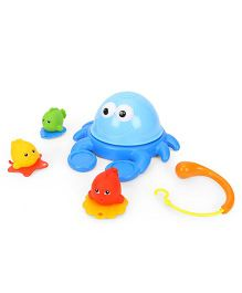 ABC Crab Bath Toy Set - Multi Color