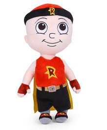 Mighty Raju Soft Toy Red Cream - Height 33 cm