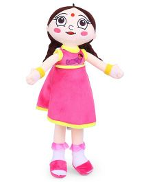 Chutki Rag Doll Pink - Height 50 cm