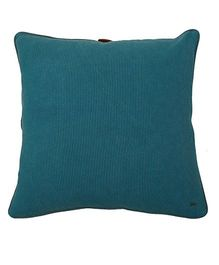 Pluchi Mini Moss Knit Oversized Cushion Cover - Peacock Blue