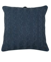 Pluchi Cable Twist Knit Oversized Cushion Cover - Tea Grey