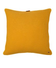 Pluchi Moss Knit Oversized Cushion Cover - Honey Gold