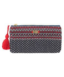 Pluchi Charlotte Knitted Coin Purse - Navy Blue