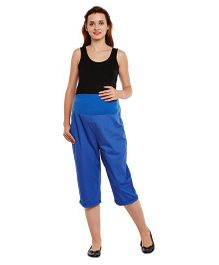 Oxolloxo Maternity Culottes - Blue