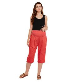 Oxolloxo Maternity Culottes - Red