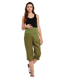 Oxolloxo Maternity Culottes - Green