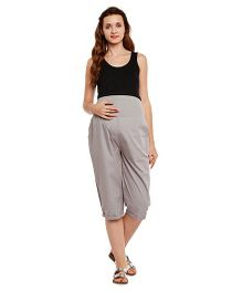 Oxolloxo Maternity Culottes - Grey