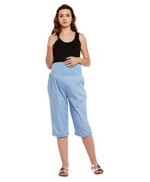 Oxolloxo Maternity Culottes - Light Blue