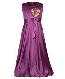 Aarika Elegant Party Wear Gown - Purple