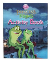 Disney Princess The Princess and The Frog - Activity book