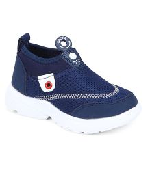 Cute Walk by Babyhug Sports Shoes - Navy