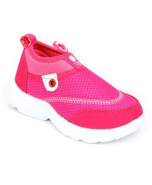Cute Walk by Babyhug Sports Shoes - Fuchsia